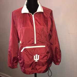 EUC Adidas large Hoosiers pack jacket